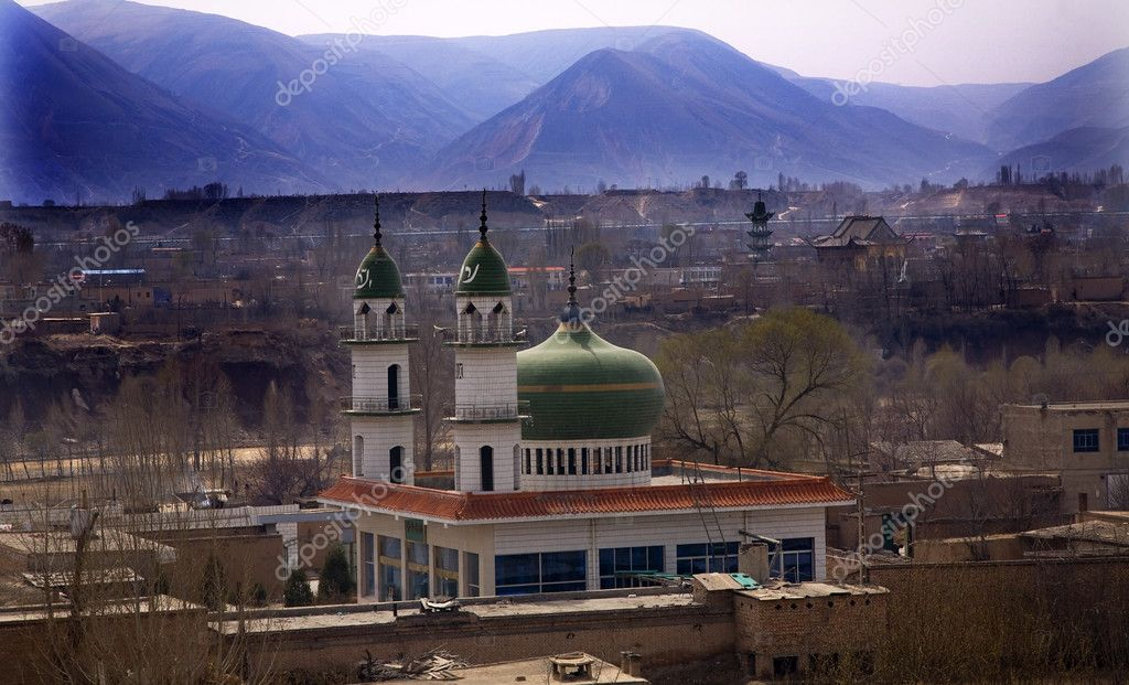 zhangye muslim Which you have opportunity to cycle on this ancient wall,and then explore the old muslim quarter and old mosque  zhangye morning fast train from lanzhou to.