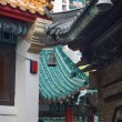 Stock Photo: Modern Buildings Ancient Roofs Bells Wong Tai Sin Taoist Temple
