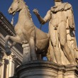 Stock Photo: Castor Statue Defender of Rome Capitoline Hill Rome Italy
