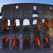 Colosseum Evening Details Rome Italy — Stock Photo