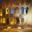 Colosseum Lovers Night Rome Italy — Stock Photo