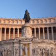 Stock Photo: Vittorio Emanuele II Monument Front Facade Tomb of Unknown Soldi