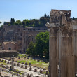 Royalty-Free Stock Photo: Forum Overview Rome Italy