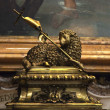Vatican Bronze Lamb Sculpture For Baptism Saint Peter's Basilica — Stock fotografie