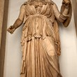 Ancient Minerva Statue Roman Goddess Capitoline Museum Rome Ital — Stock Photo