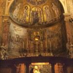Mosais Bernini Statue Santa Francesca Romana Basilica Forum Rome — Stock Photo