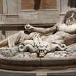 Ancient Neptune Statue Roman God Capitoline Museum Rome Italy — Stock Photo