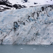 Portage Glacier, Blue Ice Water Anchorage Alaska — Stock Photo