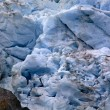 Portage Glacier Abstract Alaska — Stock Photo
