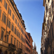 ViDel Balbuno RomStreet Rome Italy — Stock Photo #6078325