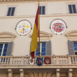 Spanish Embassy Next to Spanish Steps Piazza Mignanelli Rome Ita — Stock Photo