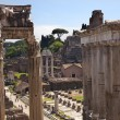 ������, ������: Temples of Saturn Forum Rome Italy