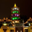 Stock Photo: Taoist Temple Wuxi Jiangsu Chinat Night