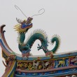Stock Photo: Dragon Roof Top Taoist Temple, Xiamen, China