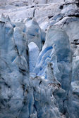 Portage Glacier Alaska Close Up — Stock Photo