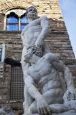 Banidinelli Hercules Statue Palazzo Vecchio Florence Italy — Stock Photo