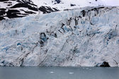 Portage lodowiec, niebieski wody lodowej anchorage w stanie alaska — Zdjęcie stockowe