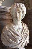 Statue Roman Womanr Capitoline Museum Rome Italy — Stock Photo