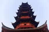 Ancient Chinese Ruigang Pagoda Close Up Song Dynasty Suzhou Chin — Stock Photo