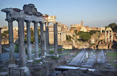 Forum Overview Center Road Rome Italy — Stock Photo