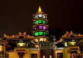 Taoist Temple Wuxi Jiangsu China at Night — Stock Photo