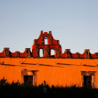 Red Yellow Building College San Miguel Mexico — Stock Photo