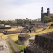 Stock Photo: Aztec Archaelogical Site Mexico City