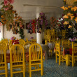 Colorful Mexican Restaurant Janitzio Island Mexico - Stock Photo