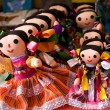 Colorful LupitDolls Mexico — Stock Photo #6110521