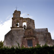 San Francisco Church Steeple Bell Tower San Miguel Mexico - Foto Stock