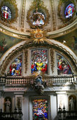 Metropolitan Cathedral, Guadalajara, Mexico Sanctuary with Stain — Stock Photo
