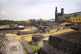 Aztec Archaelogical Site Mexico City — Stock Photo