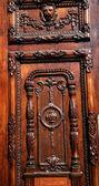 Brown Wooden Door Government Palace Guadalajara — Stock Photo
