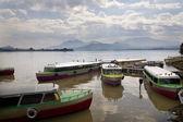 Taxi Boat Janitizo Island Patzcuaro Lake Mexico — Stock Photo
