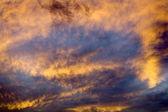 Sky Abstract at Sunset Missoula Montana — Stock Photo