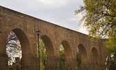 Aquaduct Morelia Mexico — Stock Photo