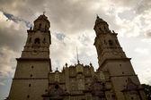 Katedra główny przegląd morelia, meksyk — Zdjęcie stockowe