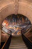 Stairs Mural of La Pipila Government Palace Morelia Mexico — 图库照片