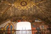 Fresco Guadalupe Juan Diego Parroquia Archangel Church San Migue — Stock Photo
