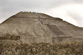 Sun Pyramid Teotihuacan Mexico — Stock Photo