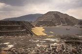 Moon Pyramid Teotihuacan Mexico — Stock Photo