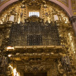 Golden Door Santa Clara Church Convent Queretaro Mexico — Stock Photo