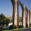 Ancient Aquaduct Queretaro Mexico — Stock Photo #6127538