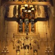 All Saints Chapel Trinity Church New York City Inside Stained Gl — Stock Photo