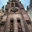 Royalty-Free Stock Photo: Matthew Mark Statues Trinity Church New York City Outside