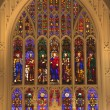 Royalty-Free Stock Photo: Trinity Church New York City Inside Stained Glass