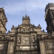 Metropolitan Cathedral Zocalo Mexico City — Stock Photo