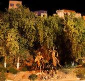 Don Quixote and Sancho Panza Statue Guanajuato Mexico — Stock Photo