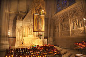 Guadalupe Shrine St. Patrick's Cathedral New York City — Stock Photo