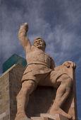 El Pipilia Statue Overlook Guanajuato Mexico — Stock Photo